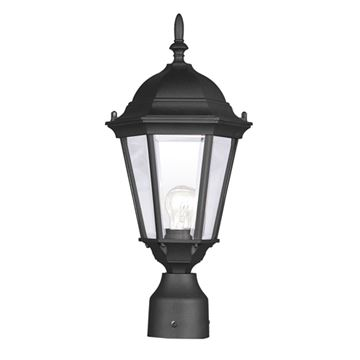 Livex Lighting Hamilton Single Outdoor Post Head Light