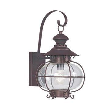 Livex Lighting Harbor Outdoor 10 1/2 Inch Wall Lantern