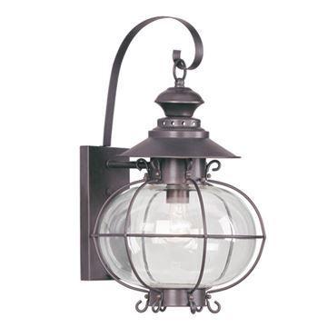 Livex Lighting Harbor Outdoor 12 3/4 Inch Wall Lantern