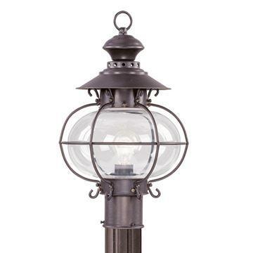 Livex Lighting Harbor Outdoor 17 Inch Post Head Light