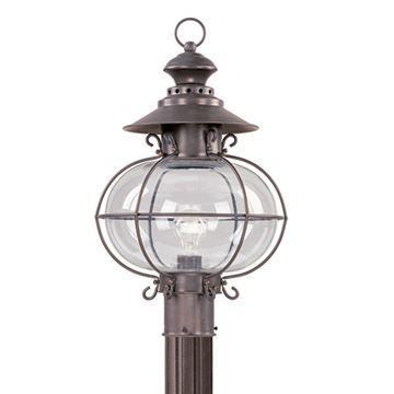 Livex Lighting Harbor Outdoor 20 1/2 Inch Post Head Light