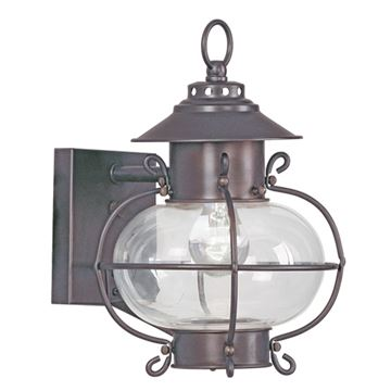Livex Lighting Harbor Outdoor 8 Inch Wall Lantern