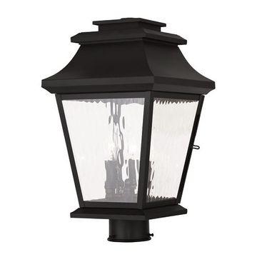 Livex Lighting Hathaway Outdoor 10 Inch Post Top Lantern