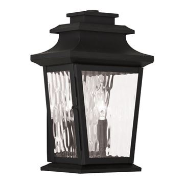 Livex Lighting Hathaway Outdoor 2 Light Wall Lantern