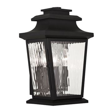 Livex Lighting Hathaway Outdoor 3 Light Wall Lantern