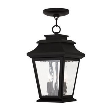Livex Lighting Hathaway Outdoor 8 Inch Chain Hang Lantern