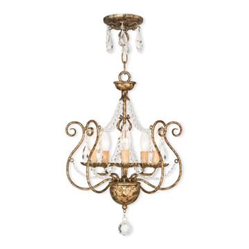 Livex Lighting Isabella 15 Inch Mini Chandelier