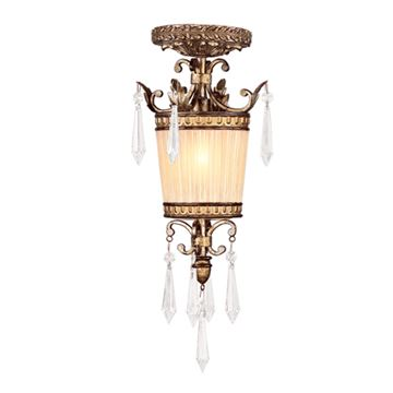 Livex Lighting La Bella 15 Inch Mini Pendant Light