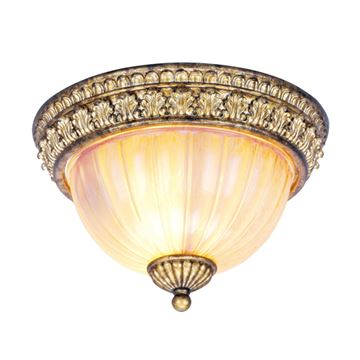 Livex Lighting La Bella Flush Ceiling Light