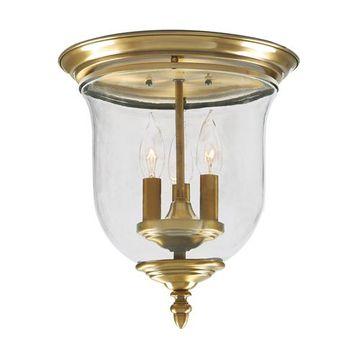 Livex Lighting Legacy Bell Flush Mount Light