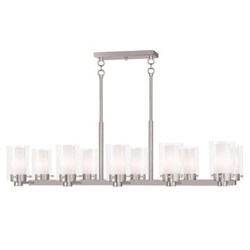 Livex Lighting Manhattan 10 Light Chandelier