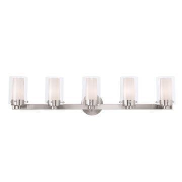 Livex Lighting Manhattan 5 Light Vanity Light