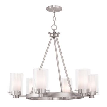 Livex Lighting Manhattan 6 Light Chandelier