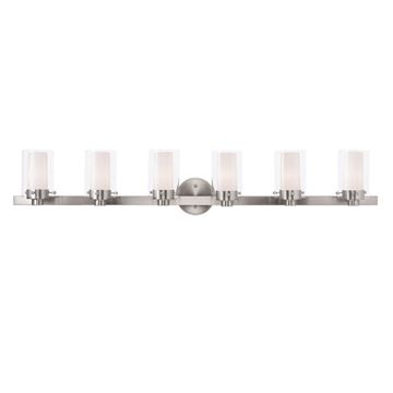 Livex Lighting Manhattan 6 Light Vanity Light