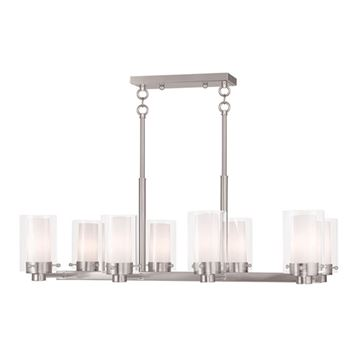 Livex Lighting Manhattan 8 Light Chandelier