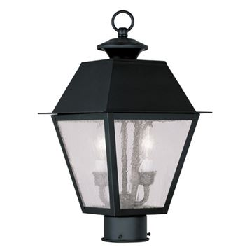 Livex Lighting Mansfield Outdoor 2 Light Post Head Light