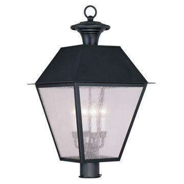 Livex Lighting Mansfield Outdoor 4 Light Post Head Light