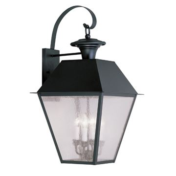 Livex Lighting Mansfield Outdoor 4 Light Wall Lantern