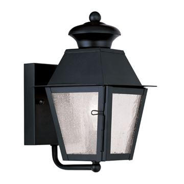 Livex Lighting Mansfield Outdoor Candelabra Wall Lantern