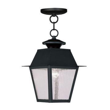 Livex Lighting Mansfield Outdoor Chain Hang Light