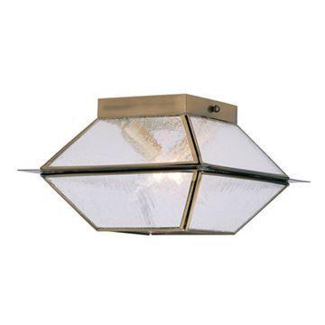 Livex Lighting Mansfield Outdoor Or Indoor 2 Light Ceiling Mount