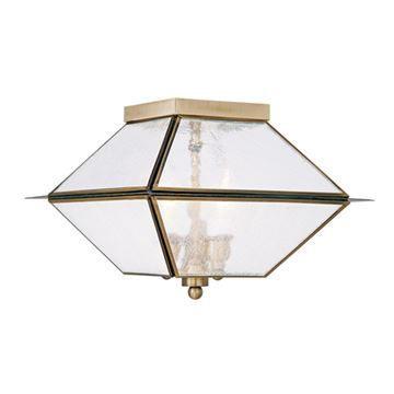 Livex Lighting Mansfield Outdoor Or Indoor 3 Light Ceiling Mount