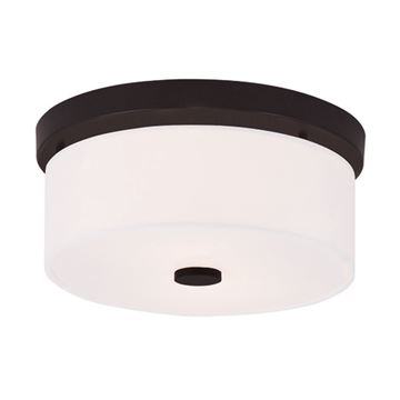Livex Lighting Meridian 11 Inch Flush Mount Light