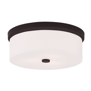 Livex Lighting Meridian 15 Inch Flush Mount Light