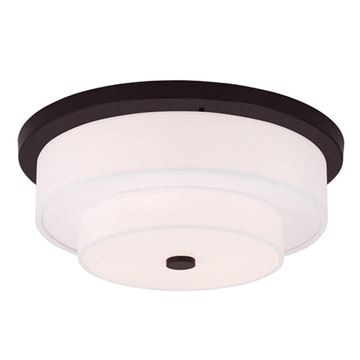 Livex Lighting Meridian 17 3/4 Inch Flush Mount Light