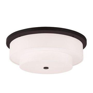 Livex Lighting Meridian 25 1/2 Inch Flush Mount Light