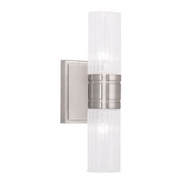 Livex Lighting Midtown 2 Light Horizontal Vanity Light