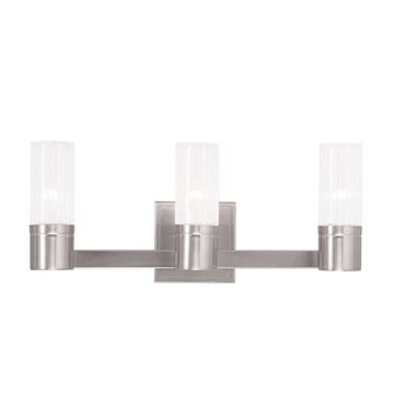 Livex Lighting Midtown 3 Light Vanity Light
