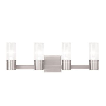 Livex Lighting Midtown 4 Light Vanity Light