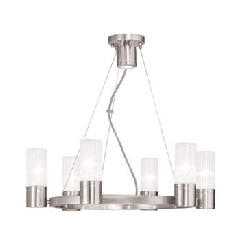 Livex Lighting Midtown 6 Light Chandelier