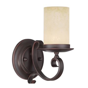 Livex Lighting Milllburn Manor 1 Light Wall Sconce