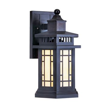 Livex Lighting Mirror Lake Outdoor 17 Inch Wall Lantern