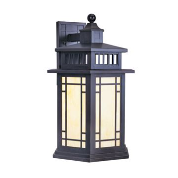 Livex Lighting Mirror Lake Outdoor 21 1/4 Inch Wall Lantern