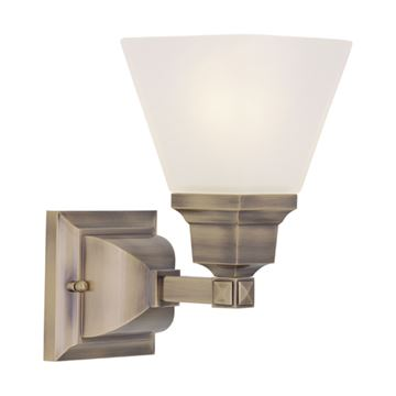 Livex Lighting Mission 1 Light Vanity Light