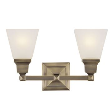 Livex Lighting Mission 2 Light Vanity Light