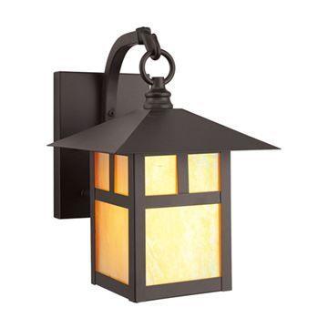 Livex Lighting Montclair Mission Outdoor 10 3/4 Inch Wall Lantern