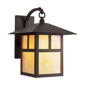 Livex Lighting Montclair Mission Outdoor 13 3/4 Inch Wall Lantern