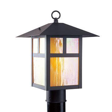 Livex Lighting Montclair Mission Outdoor 15 Inch Post Head Light