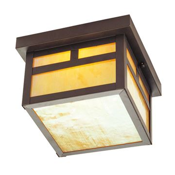 Livex Lighting Montclair Mission Outdoor 17 Inch Ceiling Mount