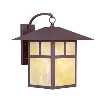 Livex Lighting Montclair Mission Outdoor 20 1/2 Inch Wall Lantern