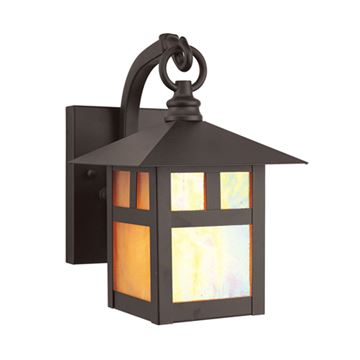 Livex Lighting Montclair Mission Outdoor 8 1/2 Inch Wall Lantern
