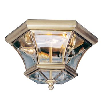 Livex Lighting Monterey Georgetown 3 Light Flush Mount Light