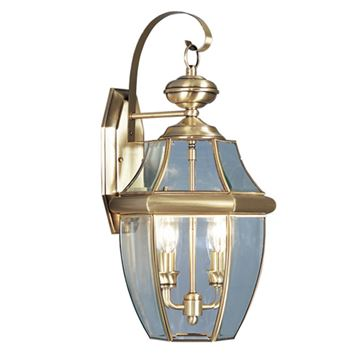 Livex Lighting Monterey Outdoor 2 Light Wall Lantern