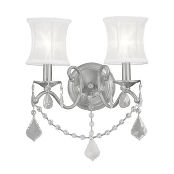 Livex Lighting Newcastle 2 Light Wall Sconce
