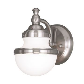 Livex Lighting Oldwick 1 Light Vanity Light