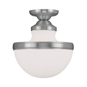 Livex Lighting Oldwick 10 1/4 Inch Flush Ceiling Light